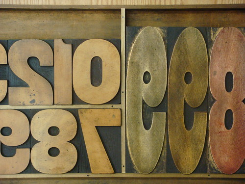 wood type figures | by Nick Sherman
