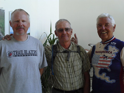 Marty R., Tim W., Todd M. | by Adventure Cycling Association