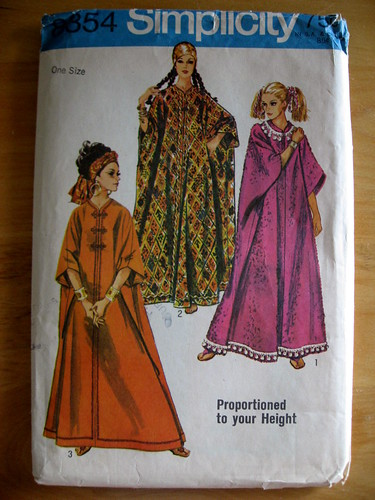 Caftan Pattern from the Sixties | by JoulesVintage