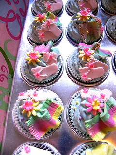 Beach Party Cupcakes | by Le Cupcake - Australia