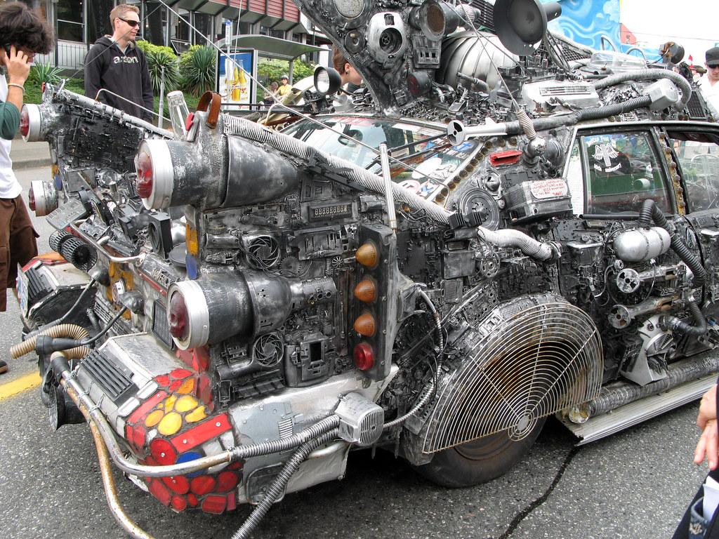 Cyberpunk car   Ruth Hartnup   Flickr
