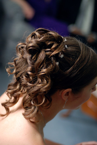 Wedding Hair | by Gare and Kitty