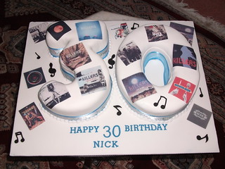 Album numbers cake | by platypus1974