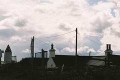 Chimney Pots and Sky resized | by rosewoodoil