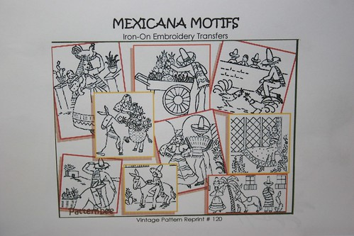 Superior Transfer Pattern Mexicana, Design No. 120 reprint | by *mia*