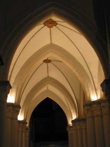 A crypt vaulting of St Andrew Cathedral, Singapore...full of sour.. | by 衛城 (Willie Chen) 的閱讀建築