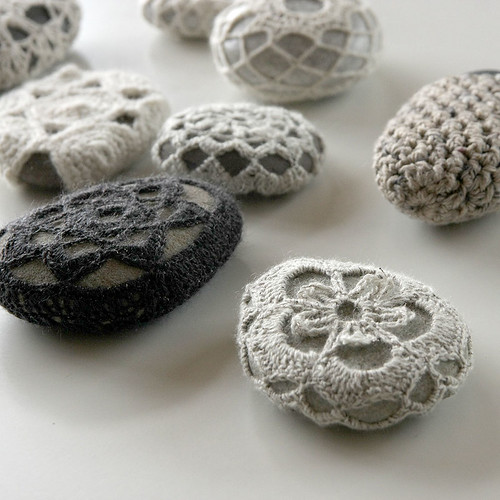 Crochet stones | by Hedgehog Fibres