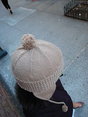 roman earflap hat - top view | by mintyfreshflavor