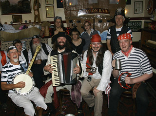 Captain Barboozer and his Pirate Crew | by International Talk Like A Pirate Day