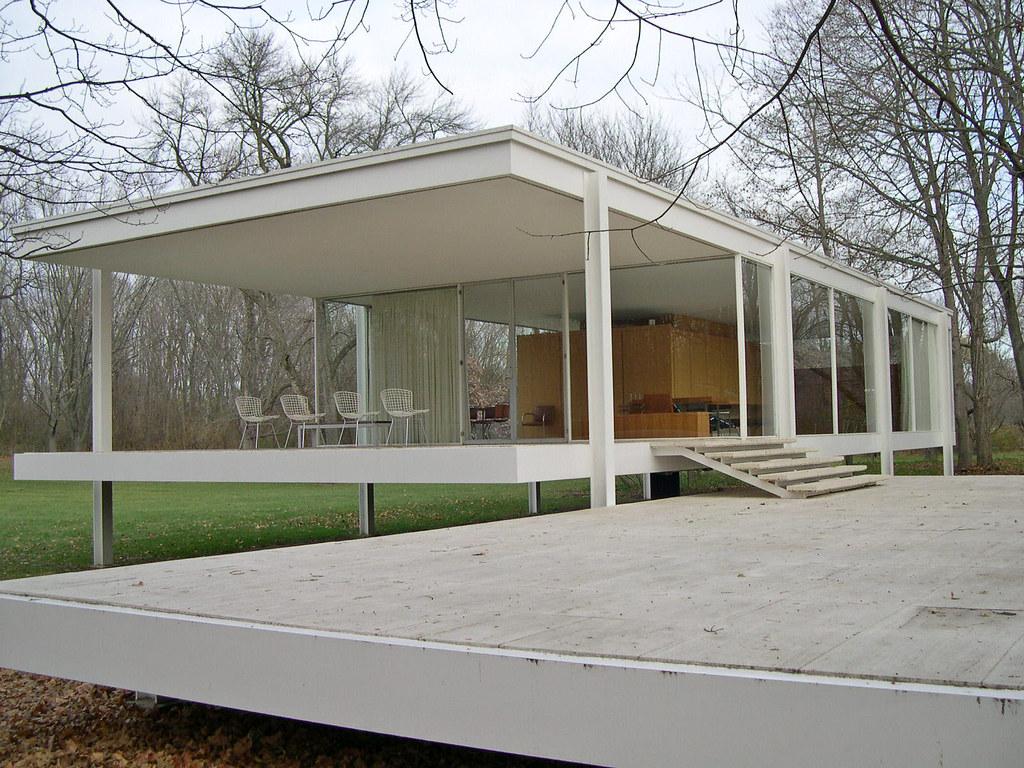 Villa Mies Der Rohe mies der rohe s farnsworth house mies der rohe s f flickr