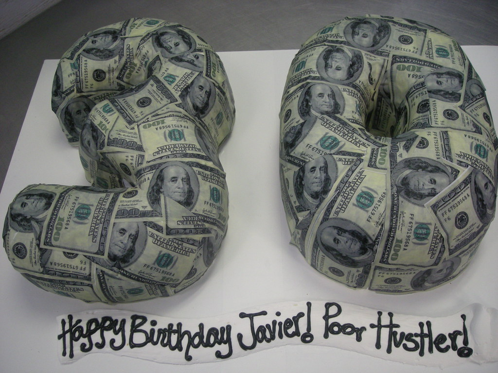 3D 30 shaped birthday cake 516 wwwasweetdesigninfo Flickr