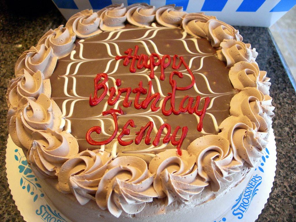 Strossners Baileys Ganache Cake Happy Birthday To Me Flickr