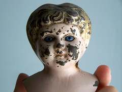 antique doll head | by das_kaninchen