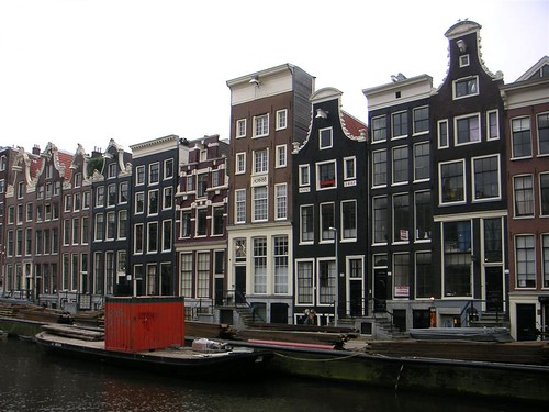Amsterdam's traditional houses | by sandeep thukral