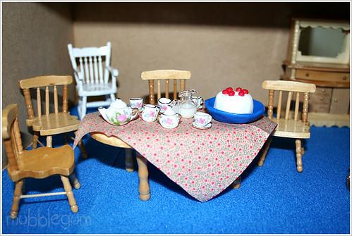 Blue Kitchen Chair Pads