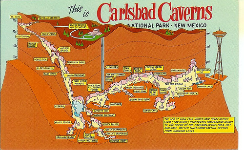 Carlsbad Caverns, NM | by WISHLIST CARDS I WANT!!!!!!!!