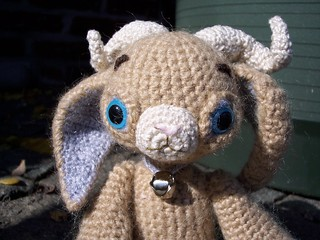 Mohair crocheted ram | by Crucifix Kiss