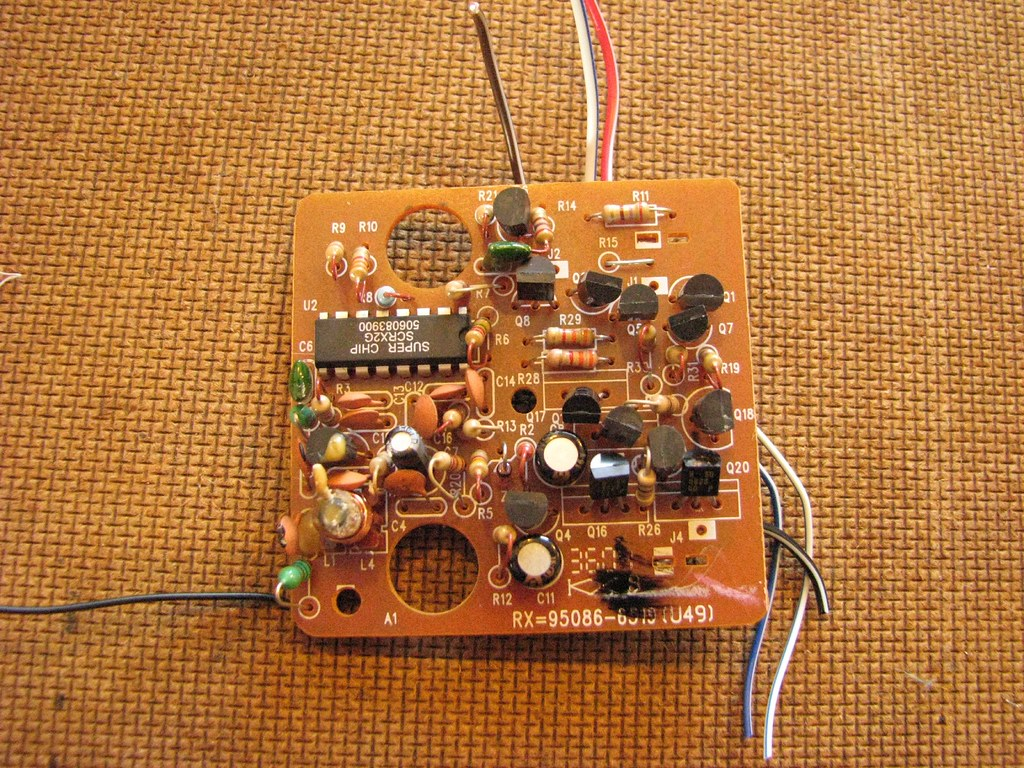 Rc Car Circuit Board Chris Connors Flickr Schematic By Connors934