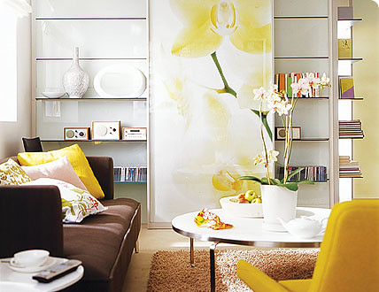... Yellow Brown Living Room | By S_ripperton Part 74