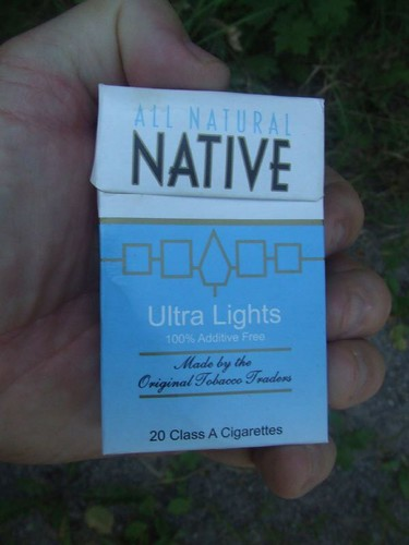 Native Cigarettes When You Drive Through The Reserves