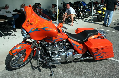 Orange Harley Paint Jobs
