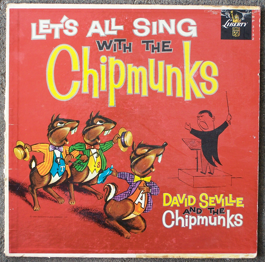Let\'s All Sing with The Chipmunks | The first album -- the m… | Flickr