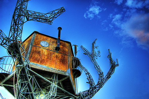 Steampunk Treehouse in the Sky | by zachwass2000