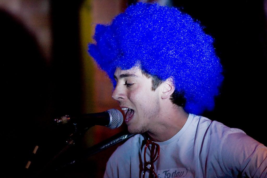 ... A big blue wig 4ca34c25f
