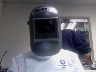 Labcoat + Hackspace + Welding Mask = Awesome? | by Ash Berlin