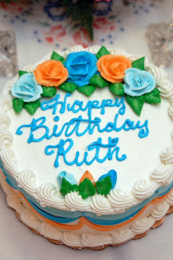 Ruth 70th Birthday Party Cake