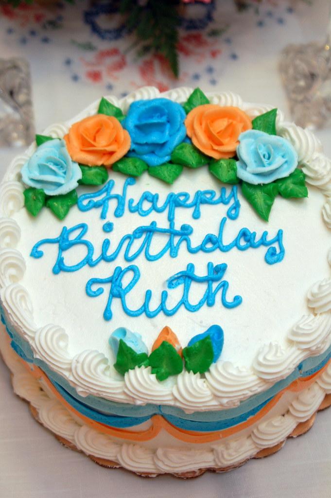 Ruth 70th Birthday Party Cake