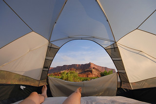 Tent View | by Rob Lee