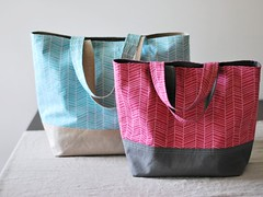 market totes | by Bijou Lovely