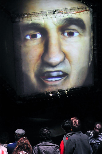 The Floating Head - STELARC & NXI GESTATIO [Nicolas Reeves . David St-Onge] | by ELEKTRA Art numérique