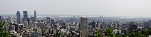 Panorama of Montreal from Mont Royal | by Mountain Visions