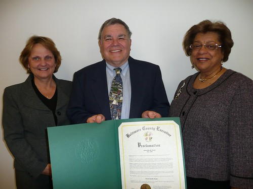 Mental Health Month 2010 Proclamation | by CCBC Media Relations