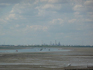 Thames Estuary overlooking Canvey Island | by essexglover