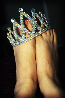 uneasy lies the foot that wears a crown | by tamelyn