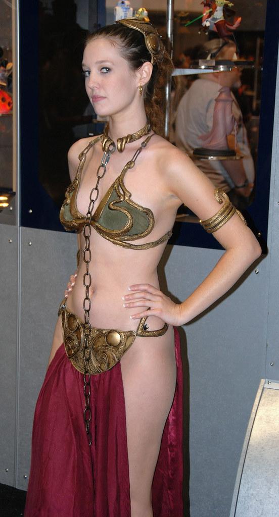 ... Princess Leia Jabbau0027s Slave   by mcaliens  sc 1 st  Flickr & Princess Leia Jabbau0027s Slave   One of the many Slave Leia cou2026   Flickr