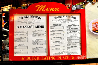 Dutch Eating Place - Reading Terminal Market - Philadelphia | by Cathy Chaplin | GastronomyBlog.com