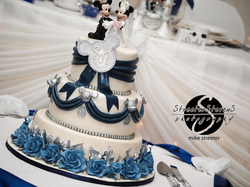 Disney Theme Wedding Cake Elegant Disney Theme Wedding Cak Flickr