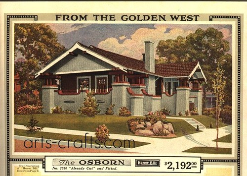 Sears Bungalow Kit House - The Osborn | by Daily Bungalow