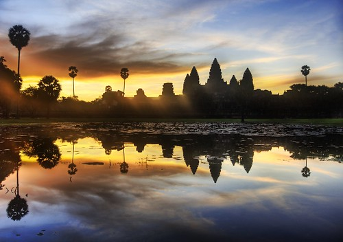 Sunrise Discovery of Angkor Wat | by Stuck in Customs