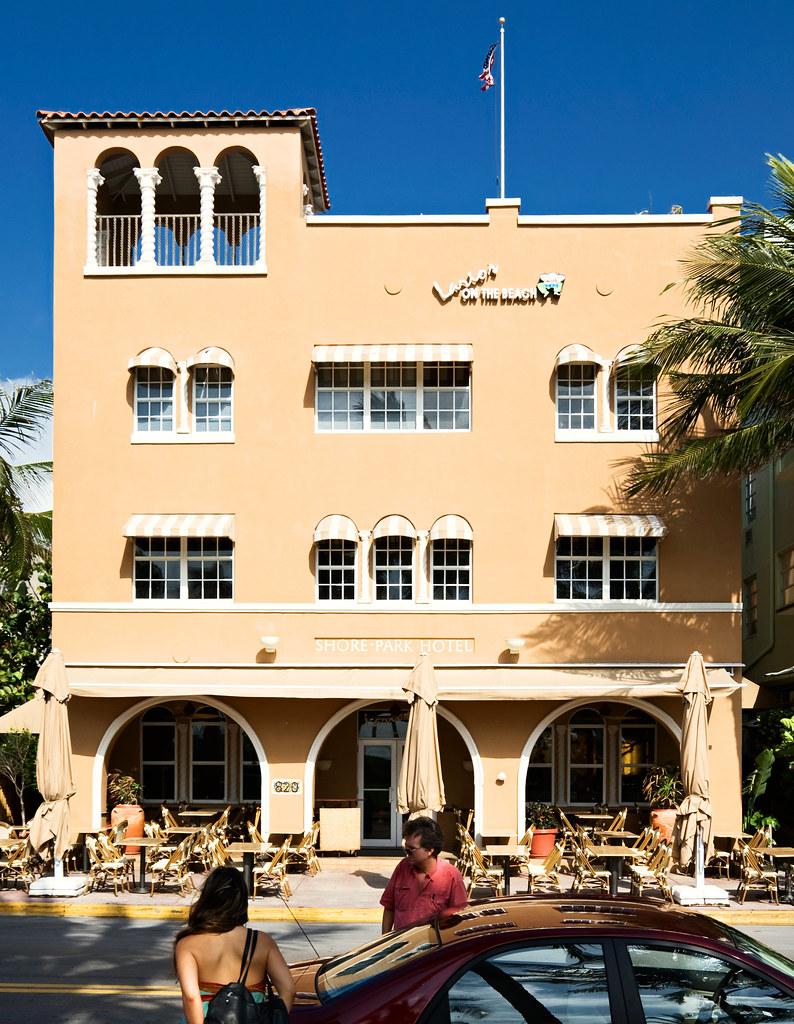 Shore Park Hotel   Ocean Drive South Beach Miami Beach