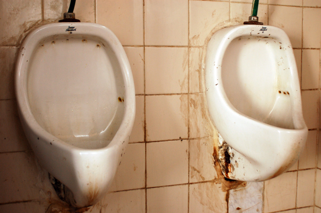 dirty toilets