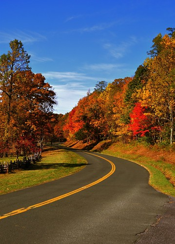 fall foliage, blue ridge parkway, Virginia | by abi.bhattachan