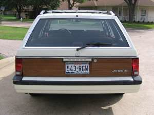 1986 Dodge Aries Woody Wagon 4 Guy Coulombe Flickr