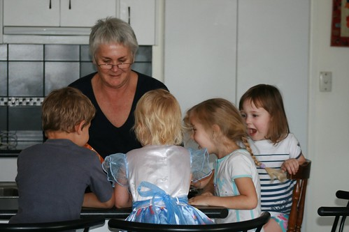 grandma and grandkids cooking | by carmen_seaby