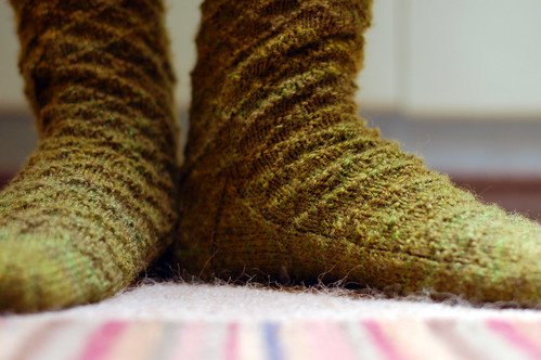 Gentleman's Lozenge Socks | by adamknits
