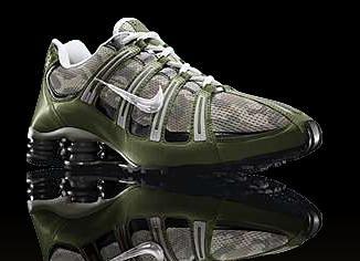 White Nike Shox Classic Ii Running Shoes Womens